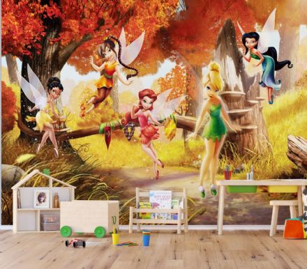 Fairies Premium wall mural Disney